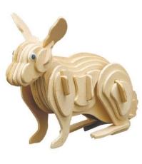 Imagine Puzzle 3D Animale de Ferma - Iepure