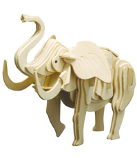 Imagine Puzzle 3D Animale salbatice - Elefant