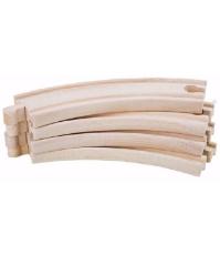 Imagine Extensii sine curbe trenulet din lemn