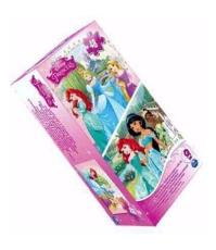 Imagine Printesele Disney 2 puzzleuri 3D (lenticulare)