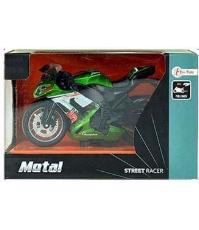 Imagine Macheta Motocicleta verde