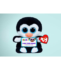 Imagine Suport de telefon Pinguin TY