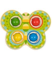 Imagine Fluture cu bile si ciocan