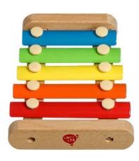 Imagine Xilofon mic din lemn