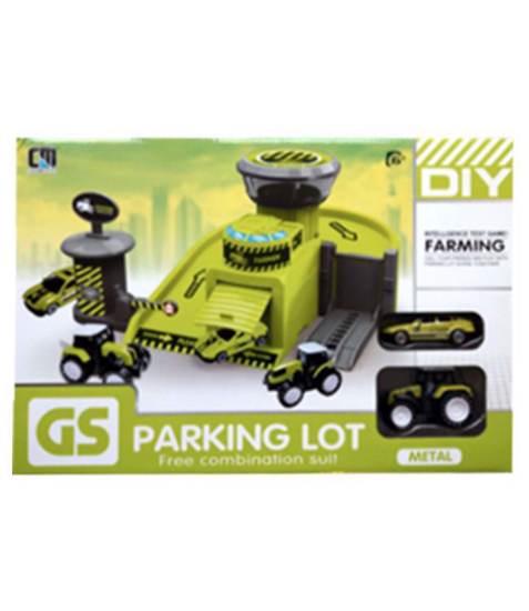 Imagine Parcare tractor
