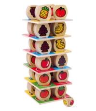 Imagine Turnul de fructe - joc de echilibru si atentie