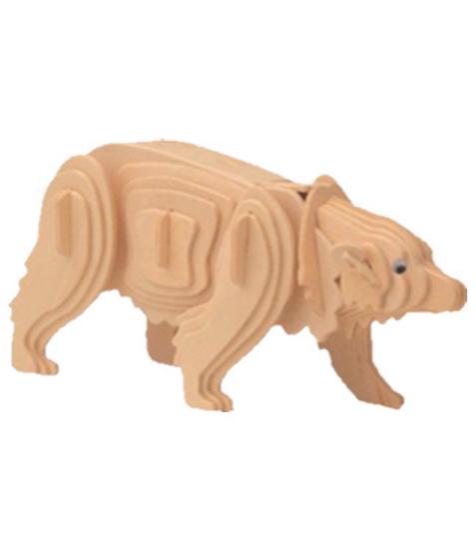 Imagine Puzzle 3D Animale - Urs Polar