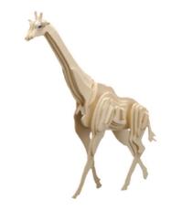 Imagine Puzzle 3D Animale salbatice - Girafa