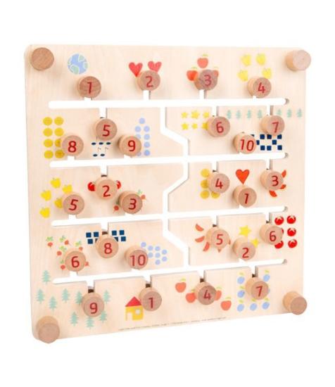 Imagine Joc de logica - labirint cu litere si numere
