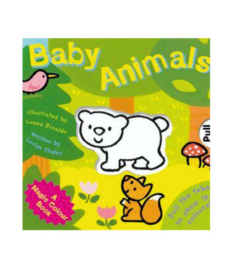 Imagine Magic colour - slide and see: Baby Animals