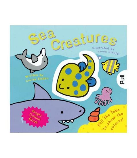 Imagine Magic Colour -slide and see: Sea Creatures