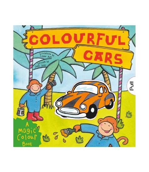 Imagine Magic colour - slide and see: Colourful Cars