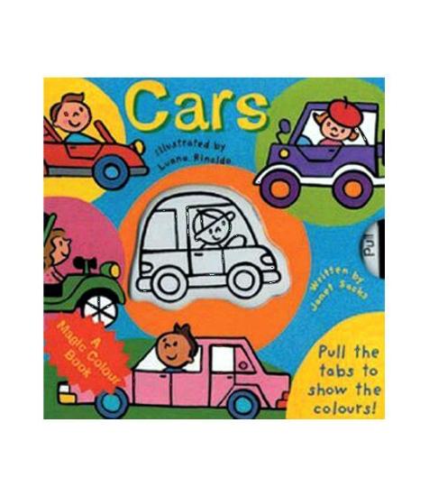 Imagine Magic colour - slide and see: Cars