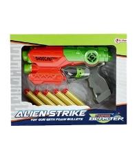 Imagine Pistol Toi Toys cu gloante de spuma