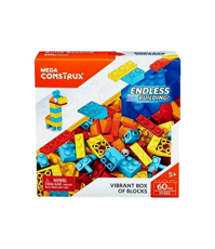 Imagine Set de construit de tip lego Mega Construx 60 de piese
