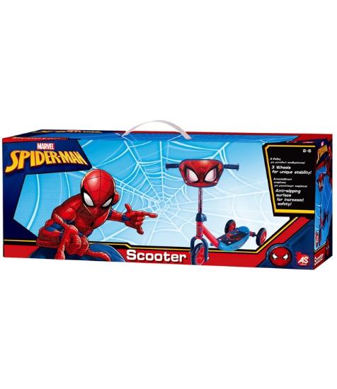 Imagine Trotineta cu 3 roti Spiderman