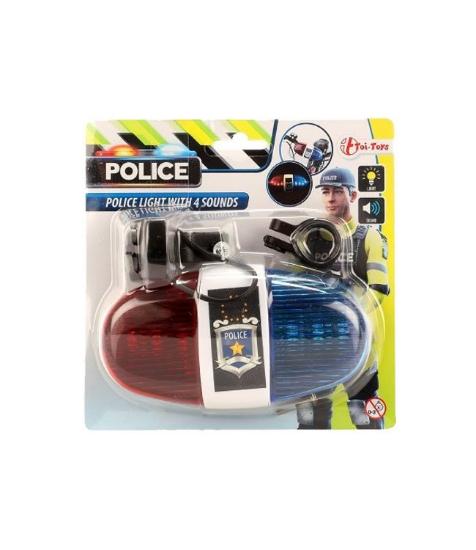 Imagine Claxon de politie pentru bicicleta