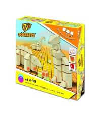 Imagine Docklets cuburi cu scai - Dinozauri 3D