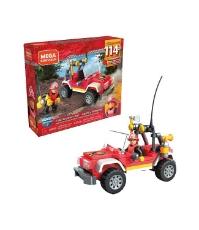 Imagine Set de tip lego Unitate de pompieri